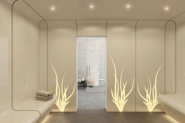 Staron spa entrance